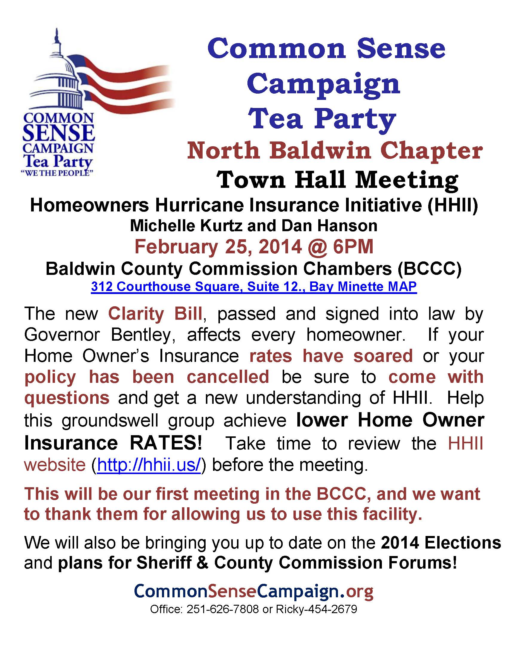 Bay Minette-Town Hall-2014-2-14