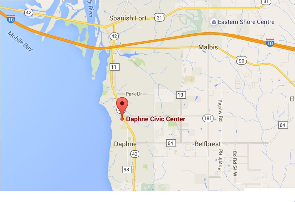 Daphne-Civic-Center-from I-10-MAP